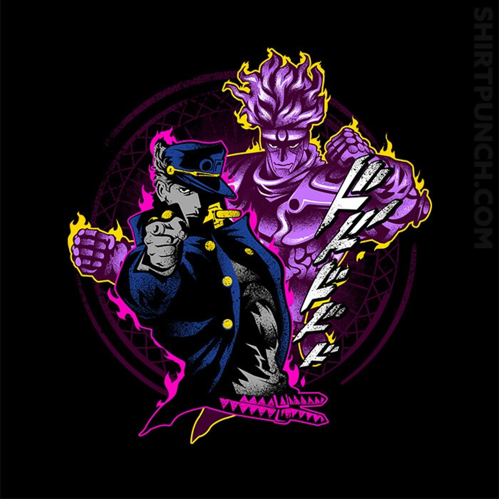 ShirtPunch: Attack Of Jotaro