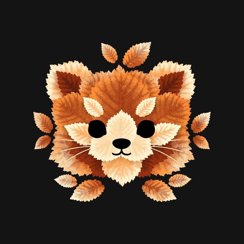 TeeFury: Red Panda Of Leaves