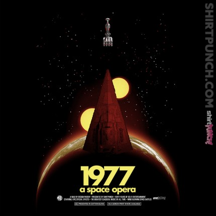 ShirtPunch: 1977: A Space Opera