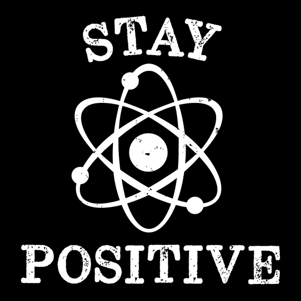 NeatoShop: Distressed Vintage Stay Positive Science