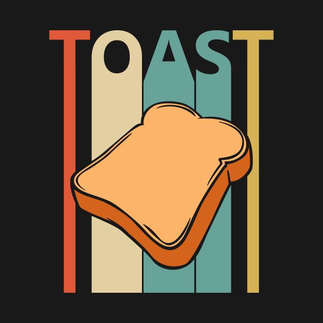 TeePublic: Vintage Toast Lover Gift