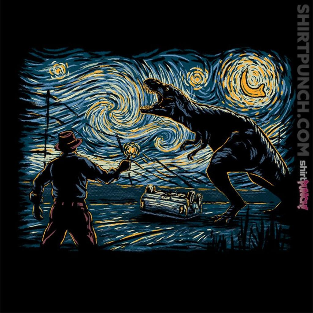 ShirtPunch: Jurassic Night