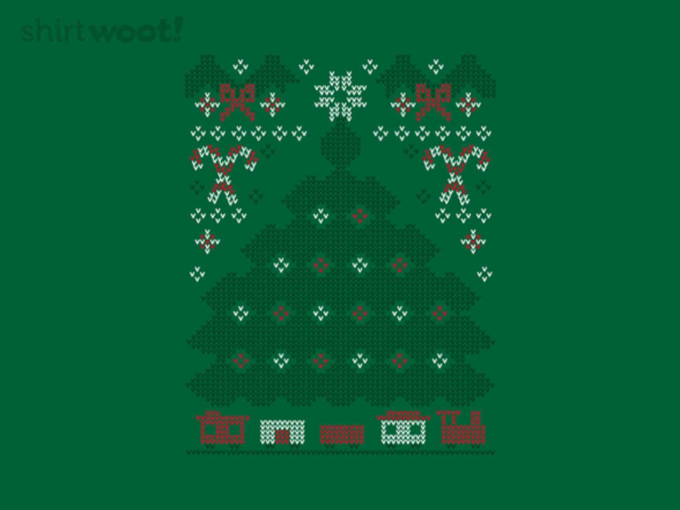 Woot!: Ugly Holiday Sweater: 2017