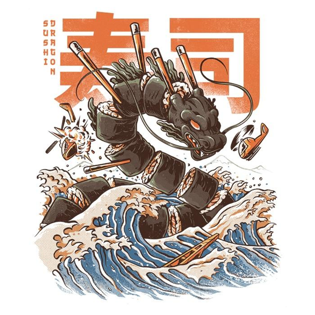 Once Upon a Tee: Great Sushi Dragon