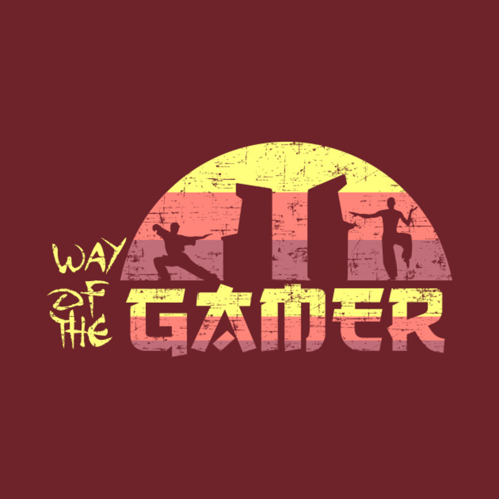 TeePublic: Way of the Gamer