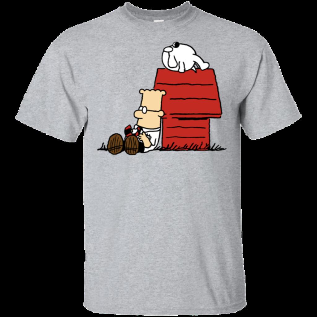 Pop-Up Tee: Dogbert