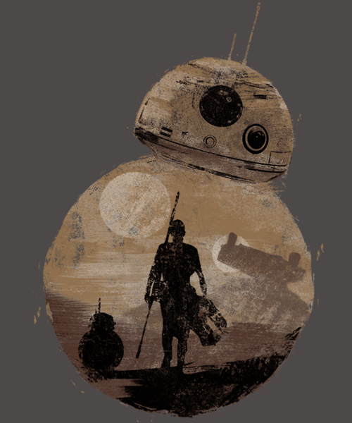 Qwertee: Rolling through the galaxy!