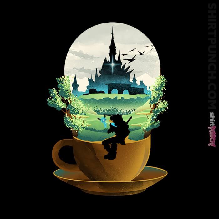 ShirtPunch: Hyrule Coffee
