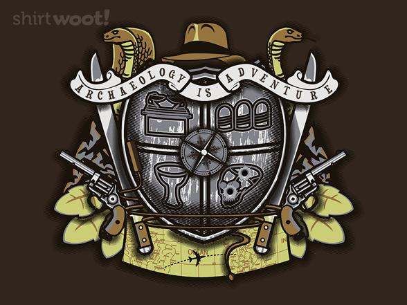 Woot!: Antique Adventurer's Crest