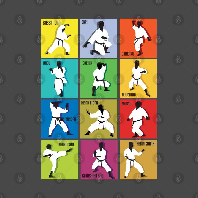 TeePublic: Shotokan Kata