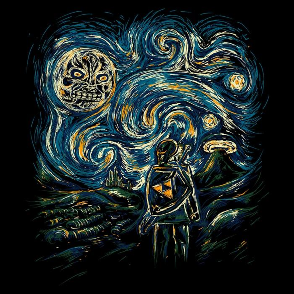 Once Upon a Tee: Hylian Night