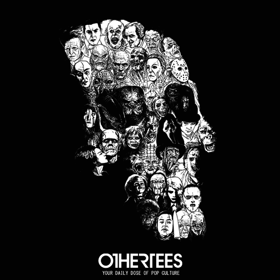 OtherTees: Horror Skull