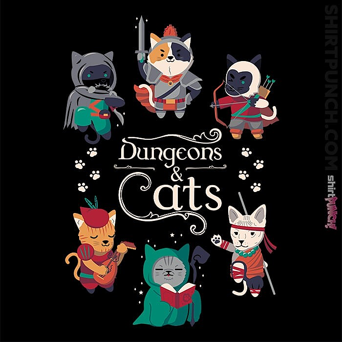 ShirtPunch: Dungeons & Cats 2nd Edition