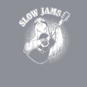 BustedTees: Slow Jams Sloth
