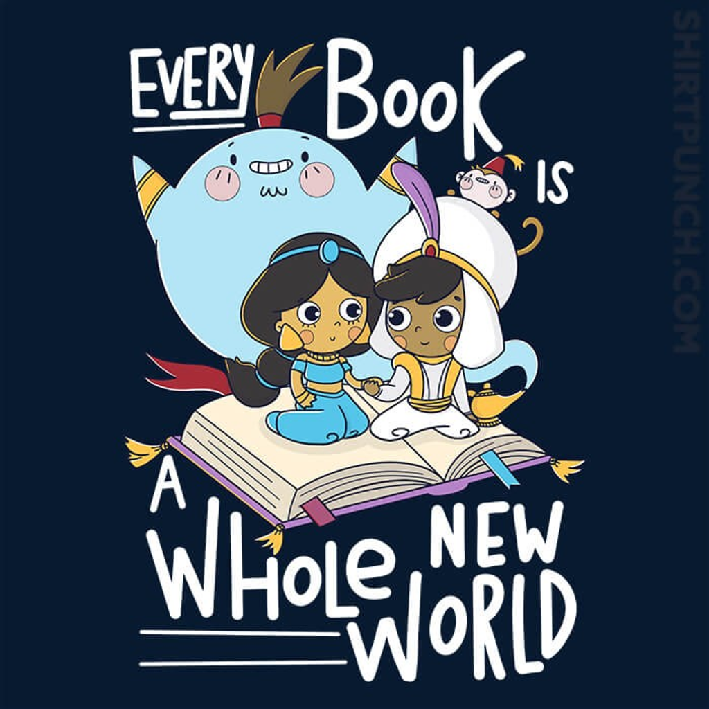 ShirtPunch: Every Book Is a Whole New World