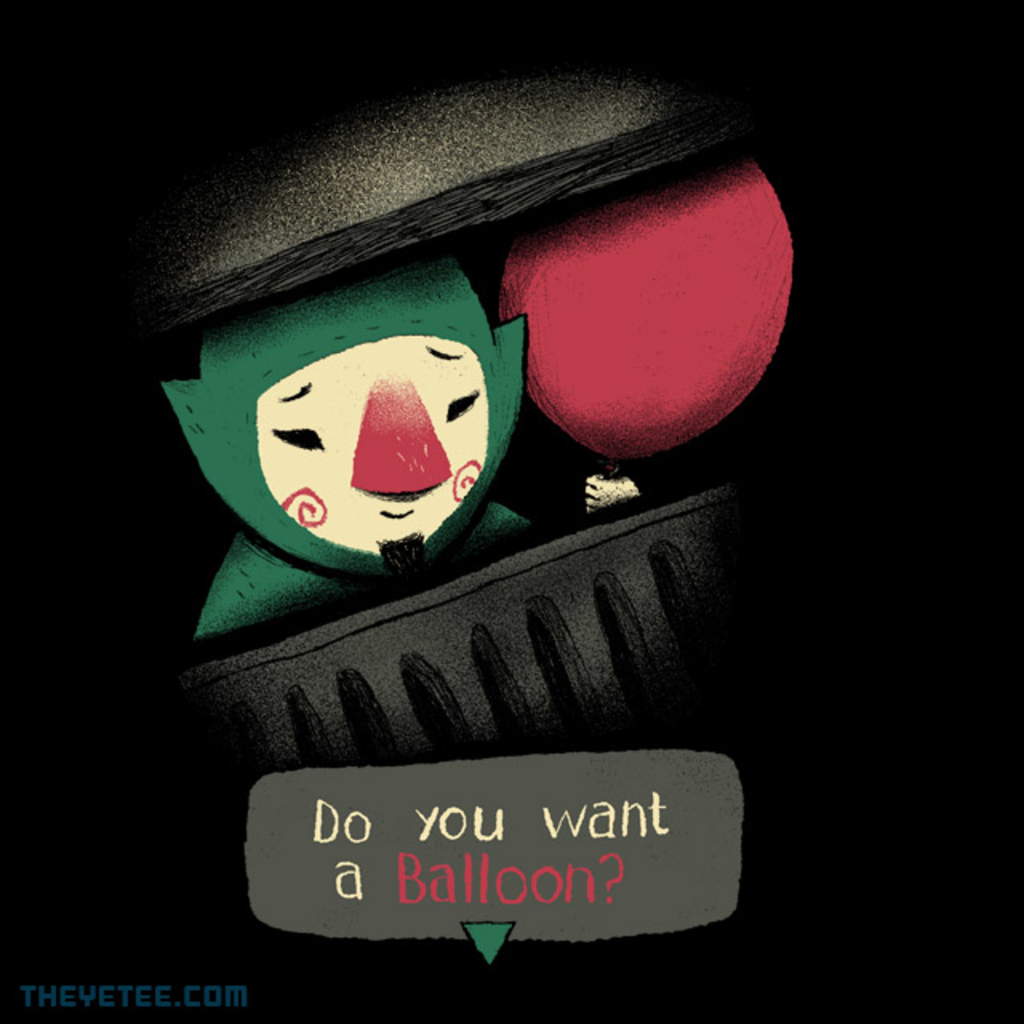 The Yetee: Do you want a balloon?