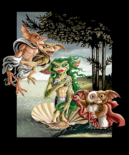 Qwertee: The Birth of Gremlinus
