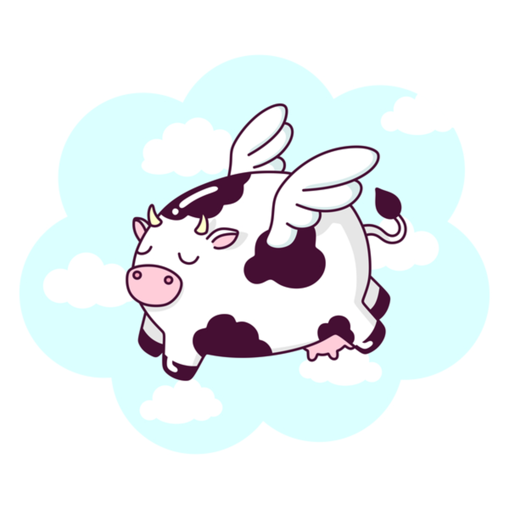NeatoShop: Flying Cow