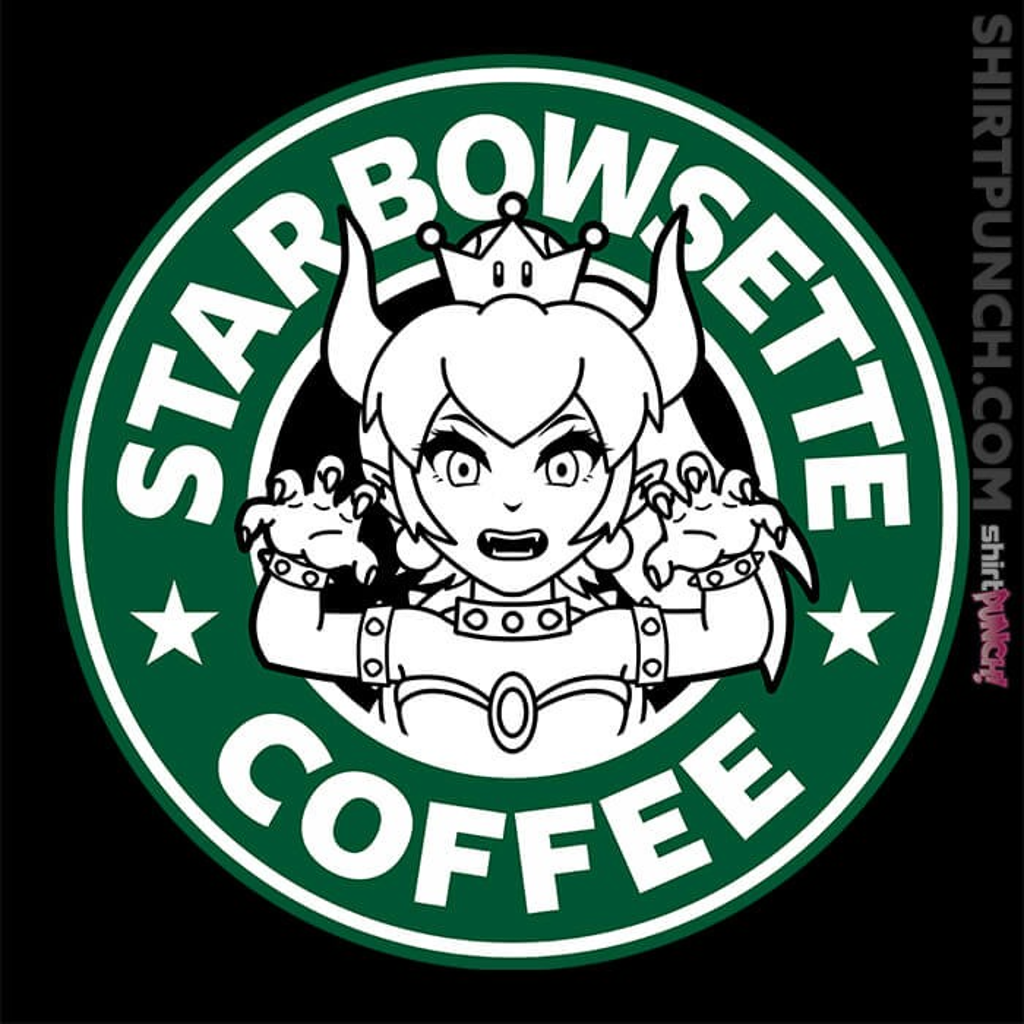 ShirtPunch: Starbowsette Coffee