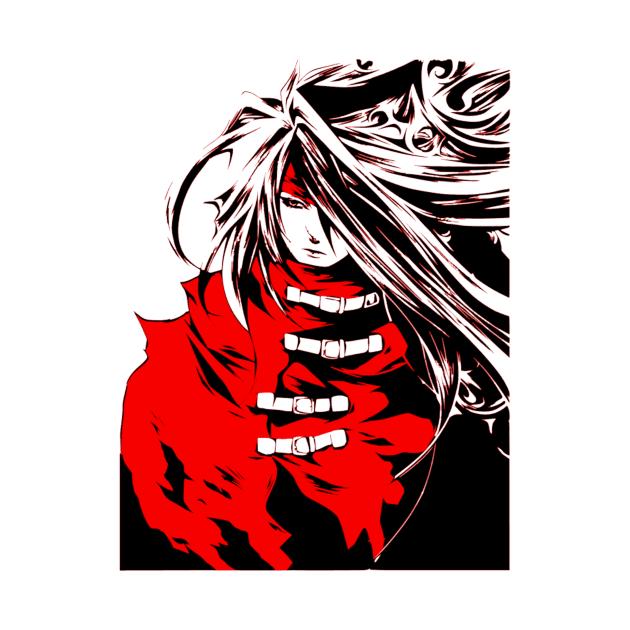 TeePublic: Vincent Valentine Final Fantasy