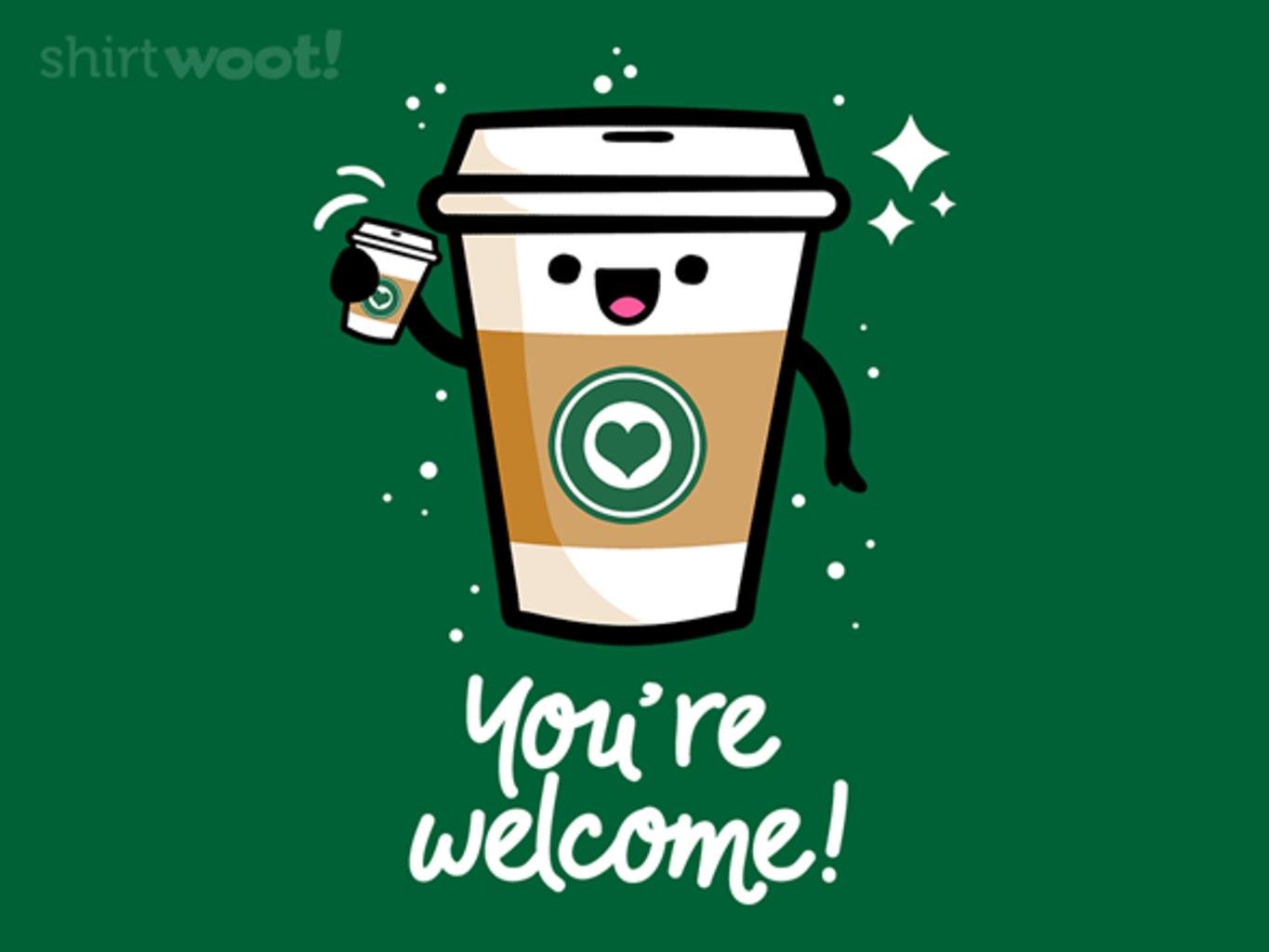 Woot!: Thank You, Coffee