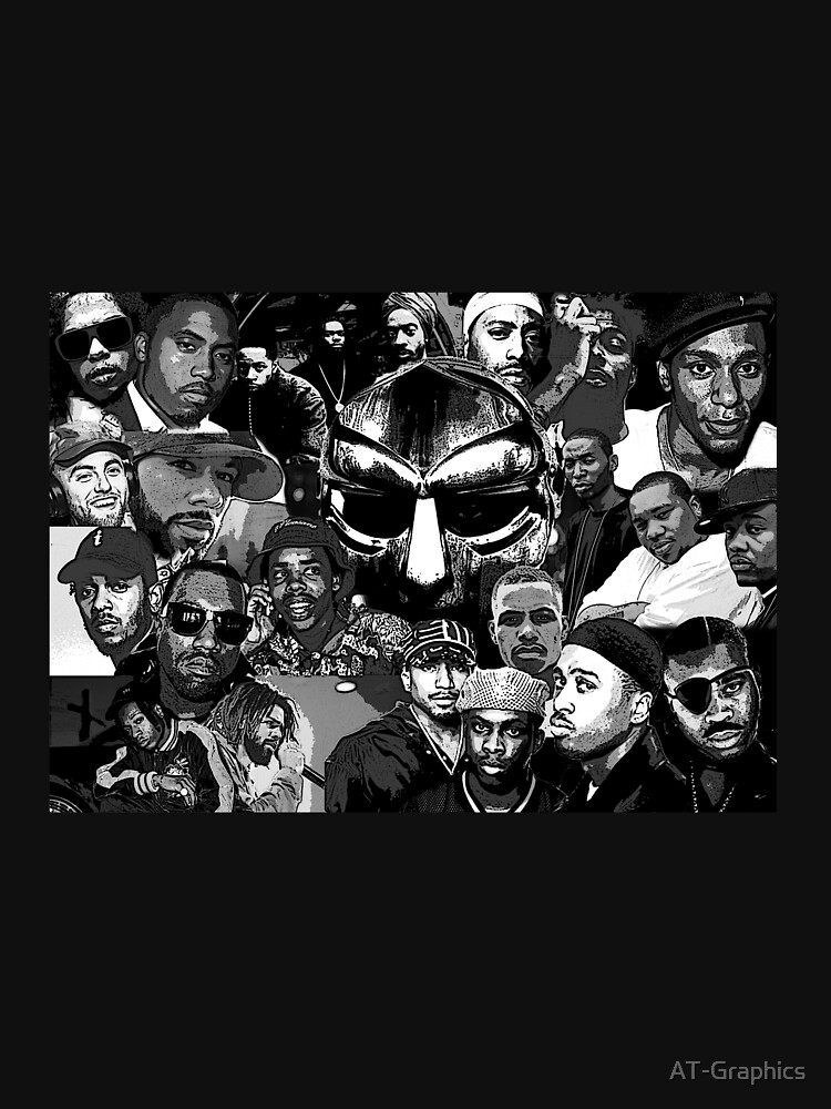 RedBubble: 90s to Present Hip Hop Collage