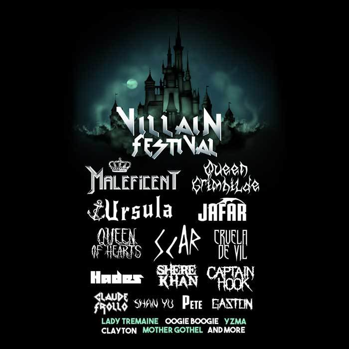 Once Upon a Tee: Villain Festival