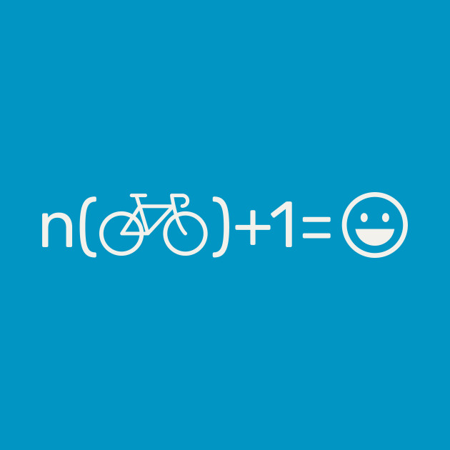 TeePublic: Happiness is another bike