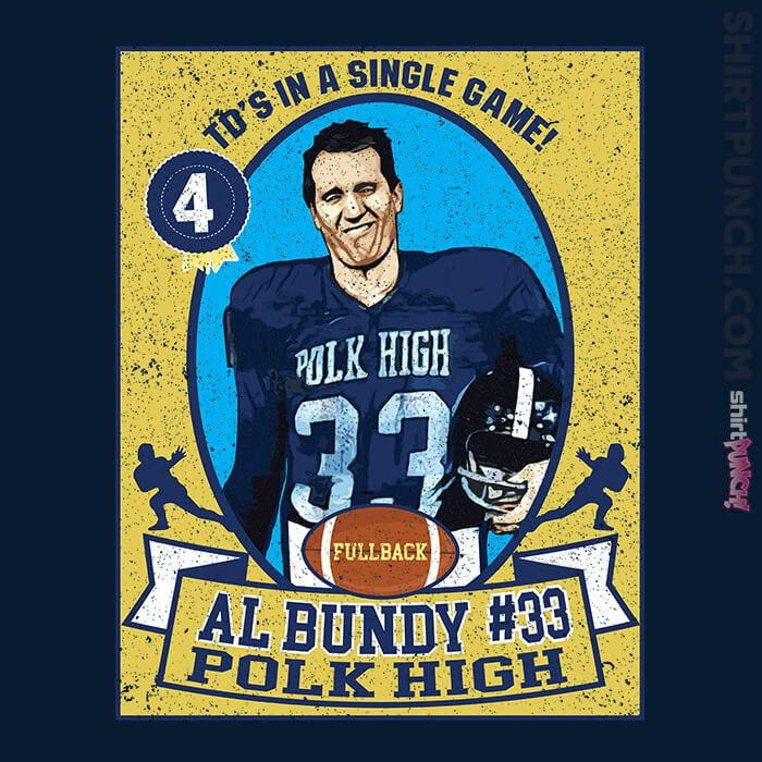 ShirtPunch: Al Bundy Trading Card