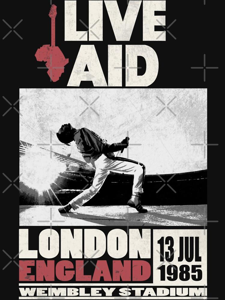 RedBubble: Live Aid at Wembley