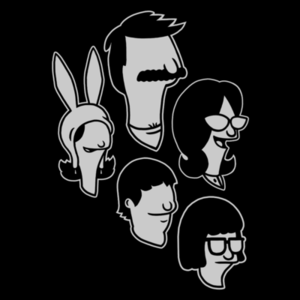 Pop-Up Tee: Belcher Family