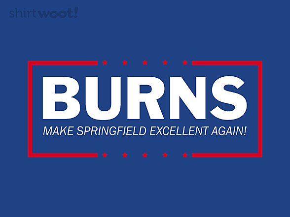 Woot!: Make Springfield Excellent Again
