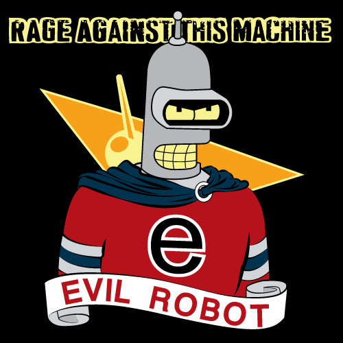 GraphicLab: Evil Robot