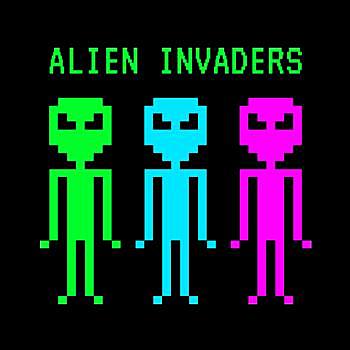 BustedTees: Alien Invaders