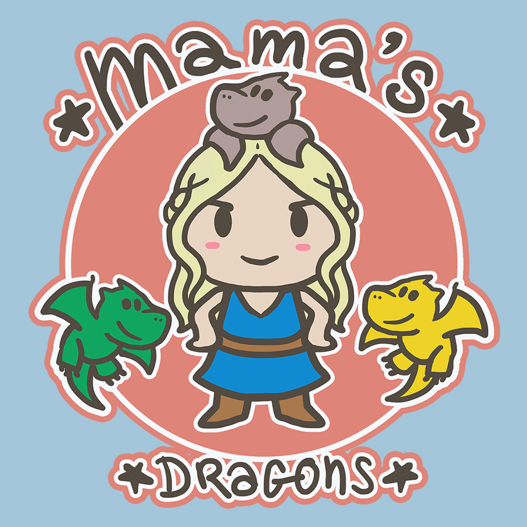 Pop-Up Tee: Mamas Dragon