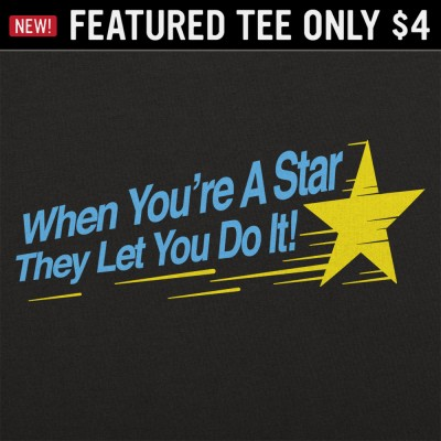 6 Dollar Shirts: When You're A Star