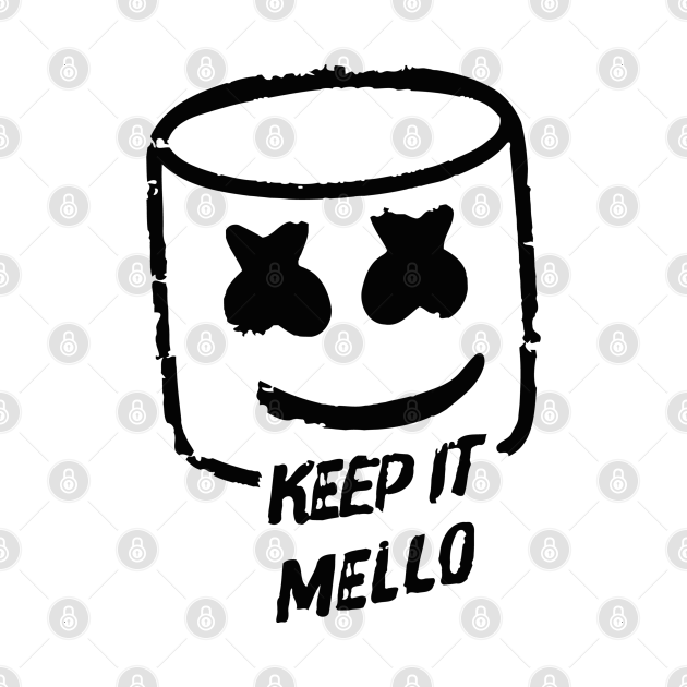 TeePublic: keep it mellow new black