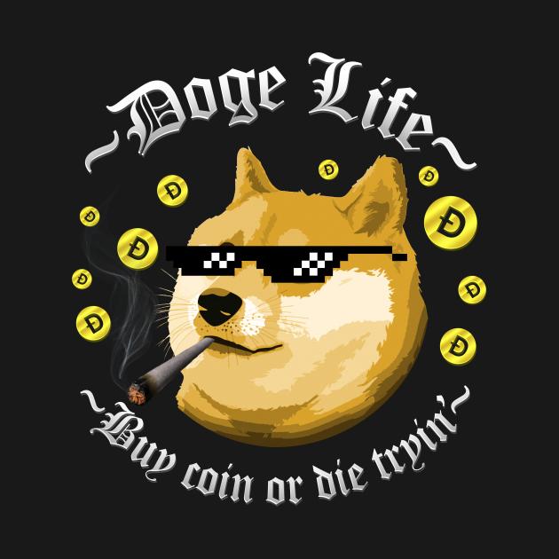 TeePublic: Doge Life