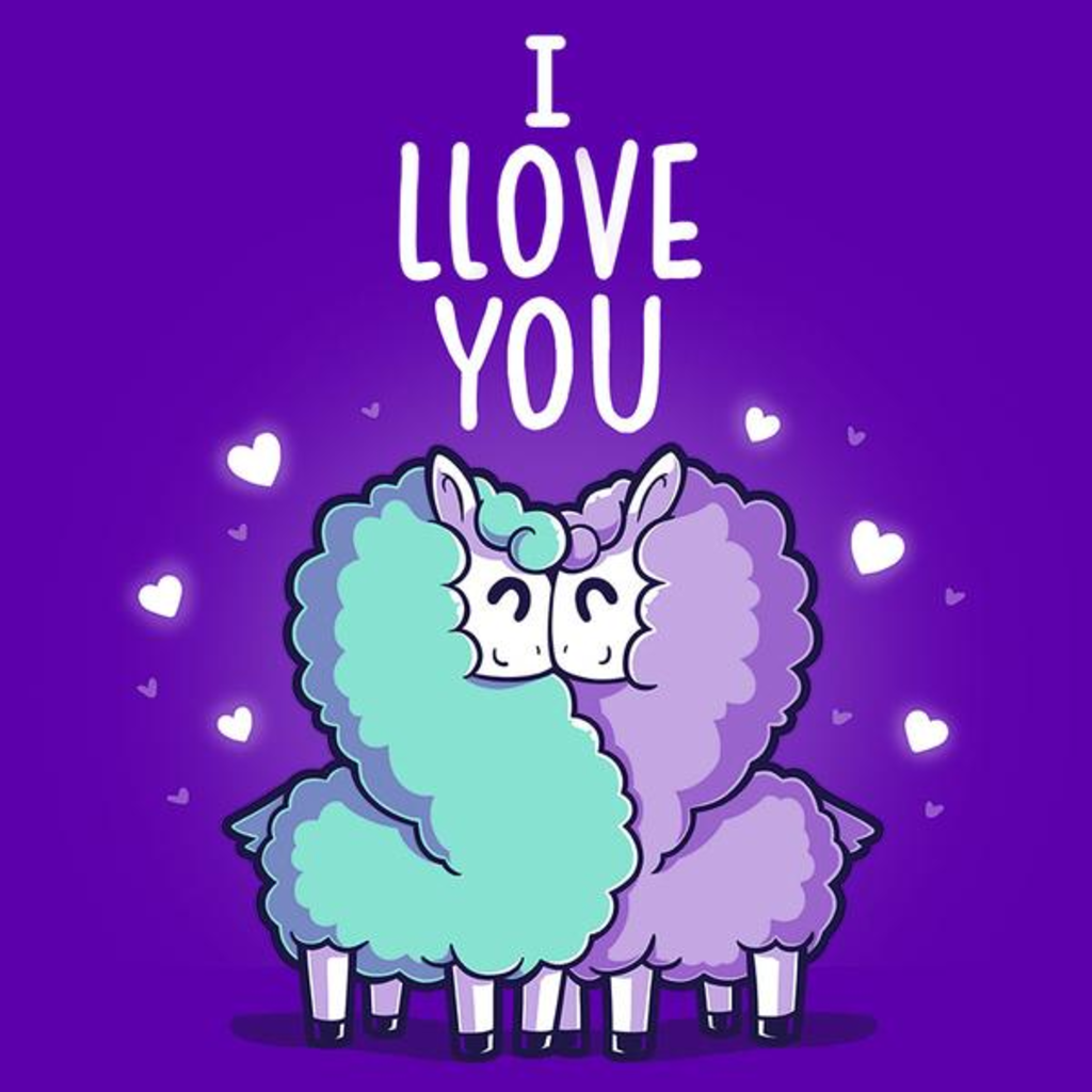 TeeTurtle: I Llove You