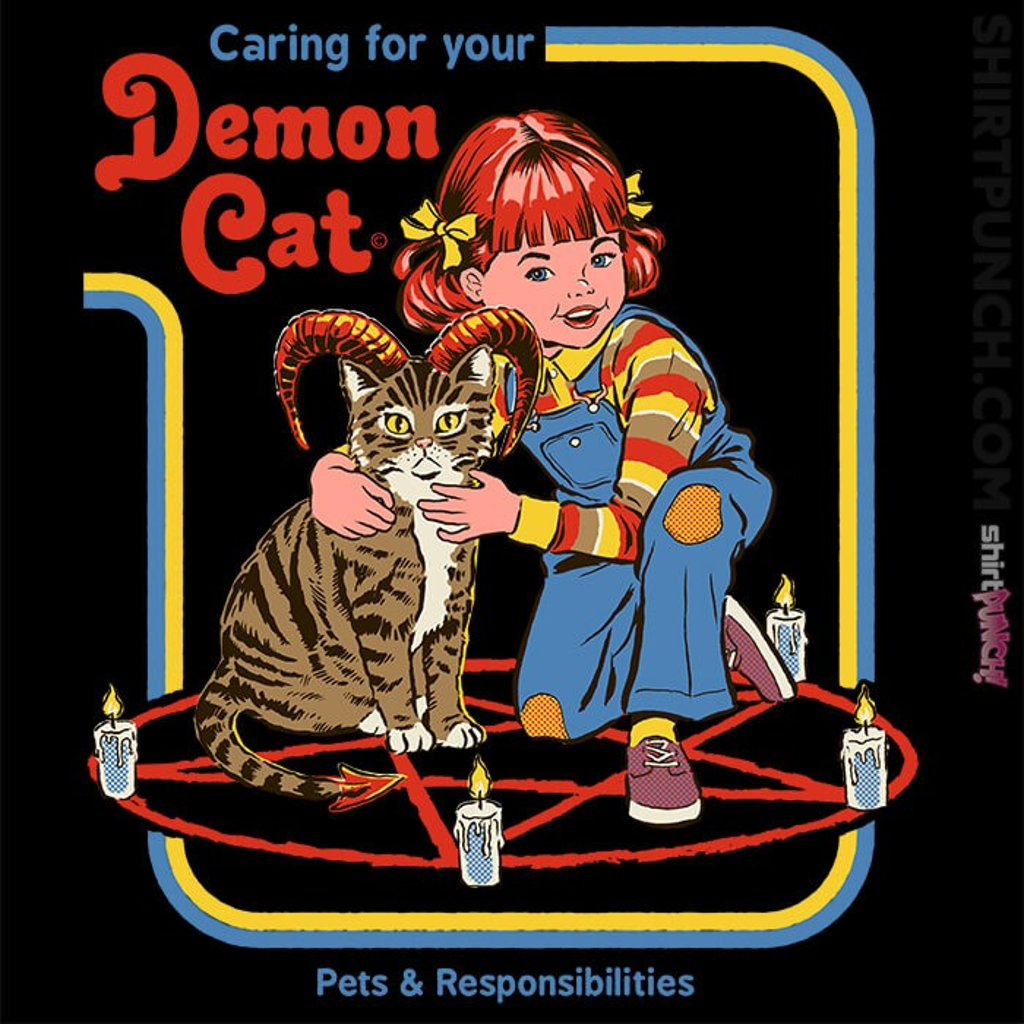 ShirtPunch: Caring For Your Demon Cat