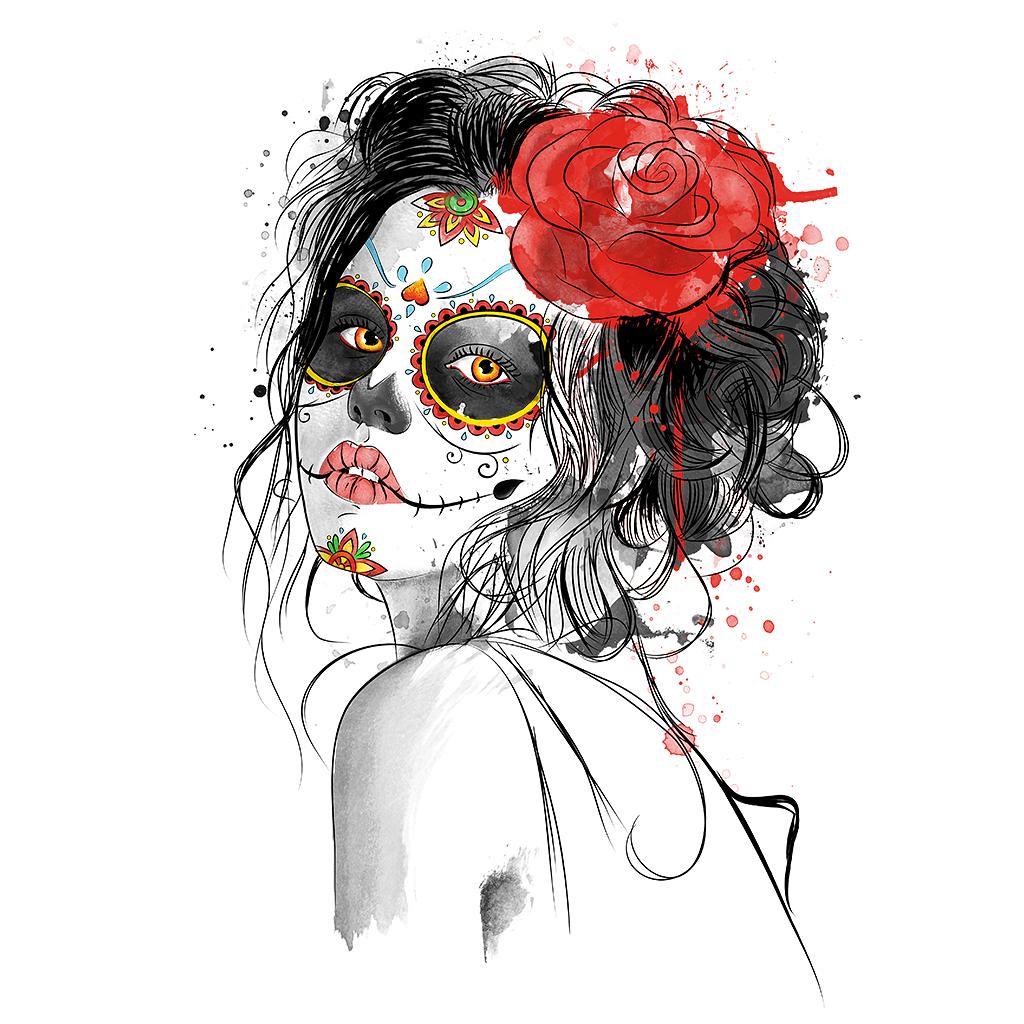 TeeTee: Día de los Muertos