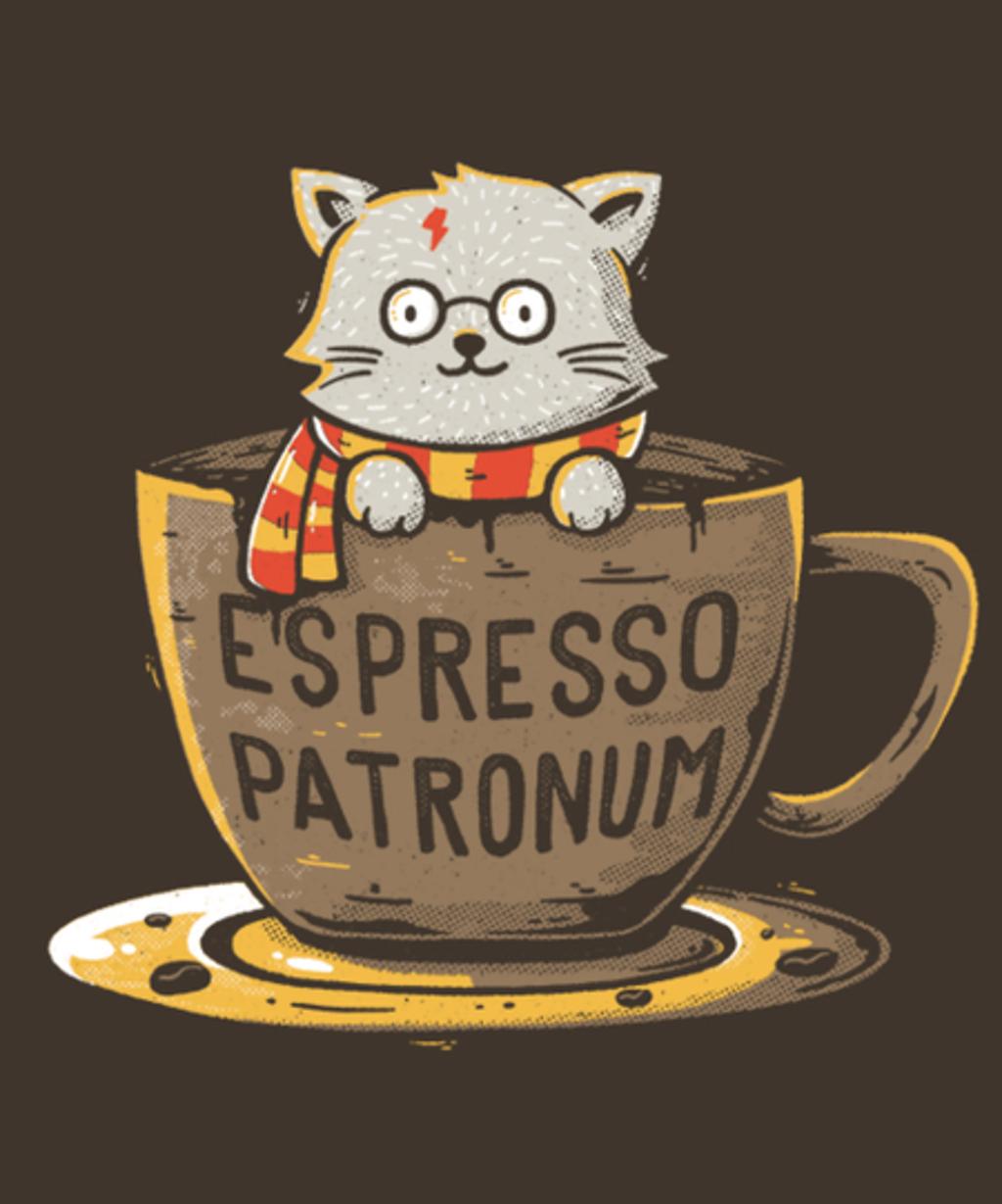 Qwertee: Espresso Patronum