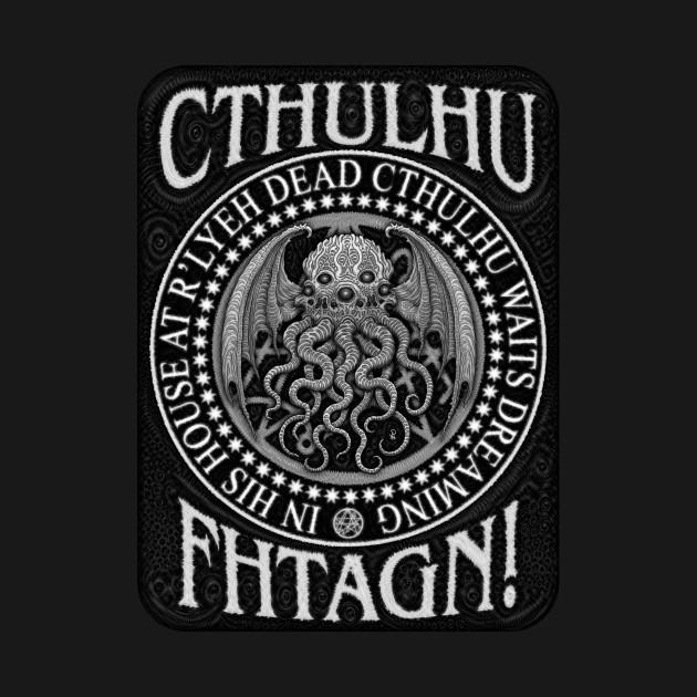 TeePublic: Cthulhu Fhtagn! - Azhmodai 2019