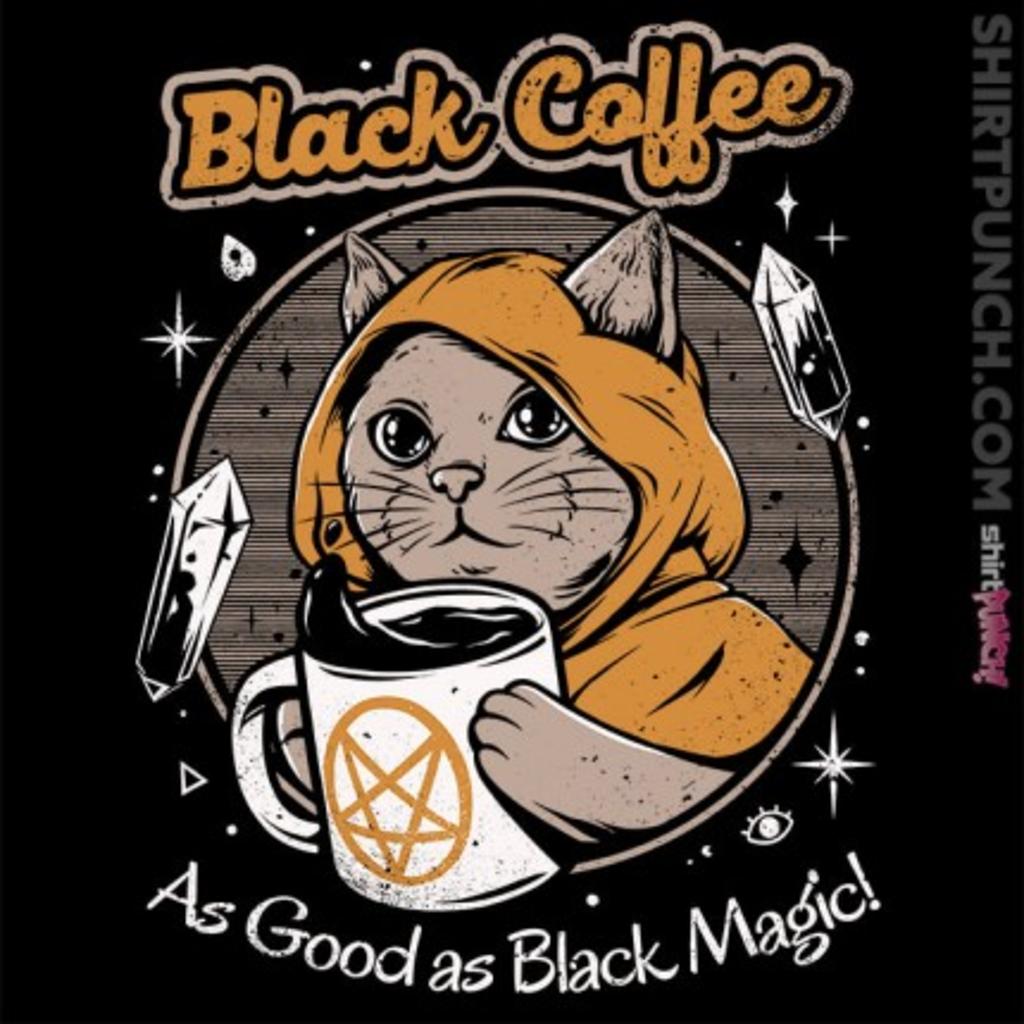 ShirtPunch: Black Magic Coffee