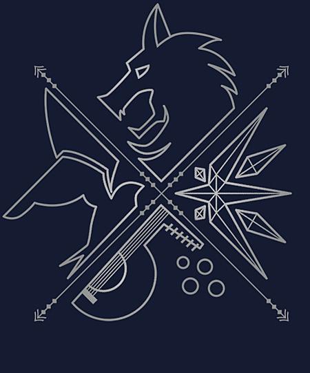 Qwertee: Minimal Witcher