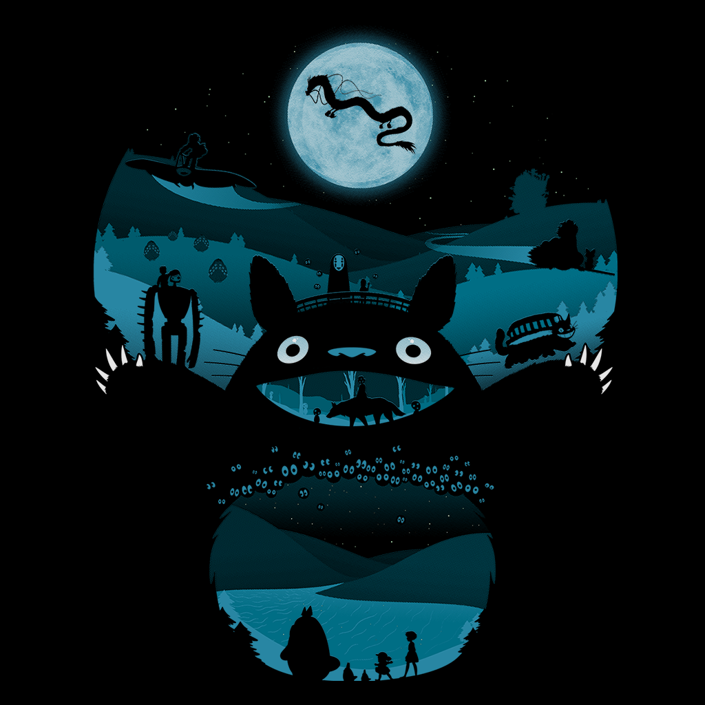 Pop-Up Tee: My Nighttime Friends