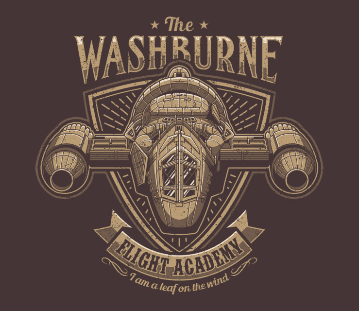 TeeFury: Washburne Flight Academy
