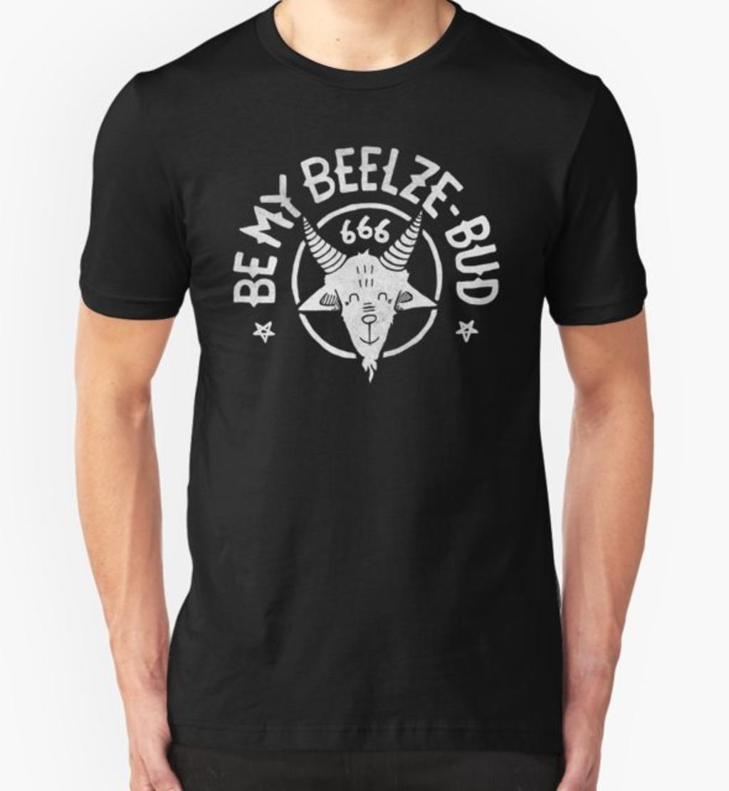 RedBubble: Be My Beelze-bud