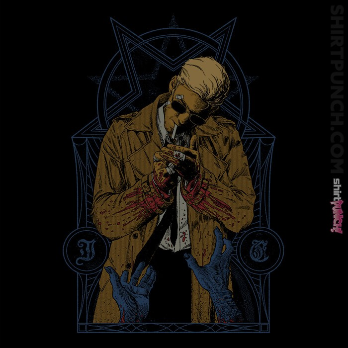 ShirtPunch: Hellblazer