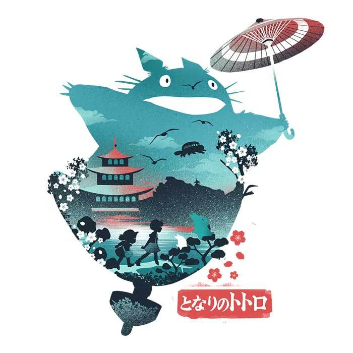 Once Upon a Tee: Neighbor Ukiyo-e